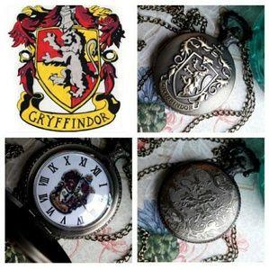 Gryffindor pocket watch
